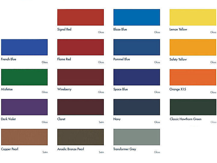 THE BOWLING ARM COLOUR CHART